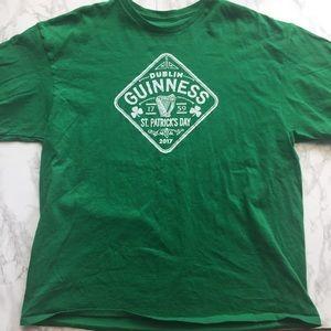 Men 2XL Green Dublin Guinness St Patty's Day